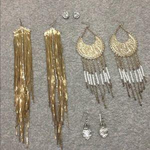 Bebe juicy couture earrings bundle